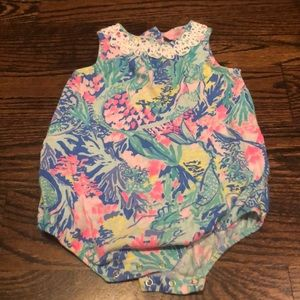 Lilly Pulitzer bubble romper - great condition